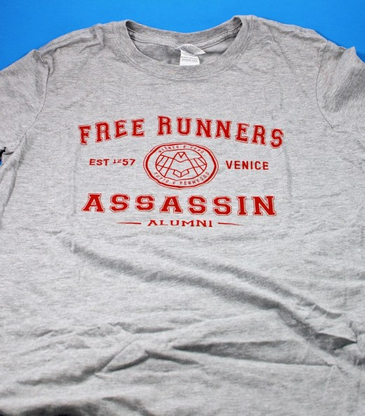 Assassin's Alumni shirt
