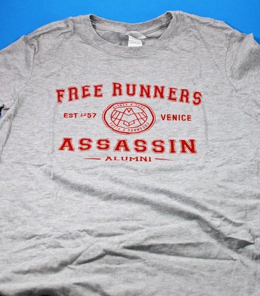Assassin's Alumni shirt