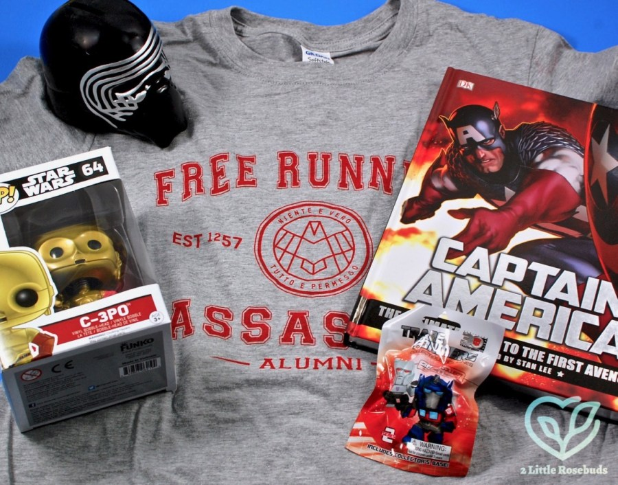 January 2017 My Geek Box review