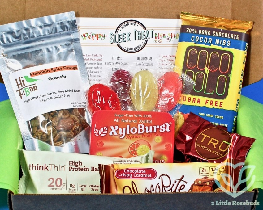 Sleek Treat January 2017 Subscription Box Review & Coupon Code