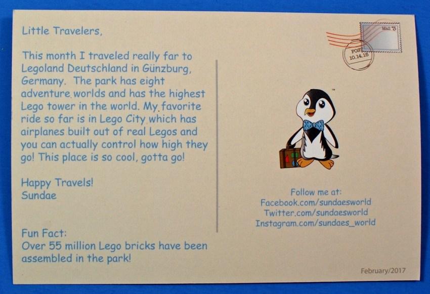 Sundae's World postcard