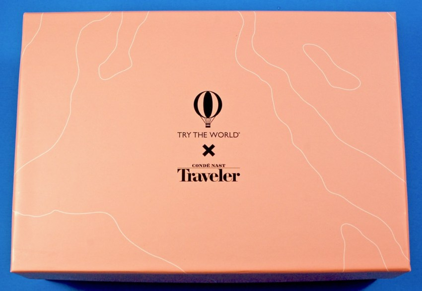 Try the World Conde Nast box review