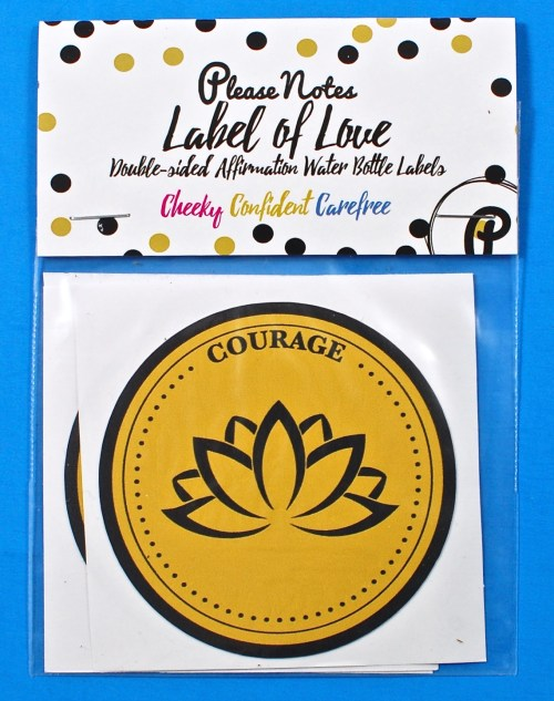 Labels of Love mat stickers