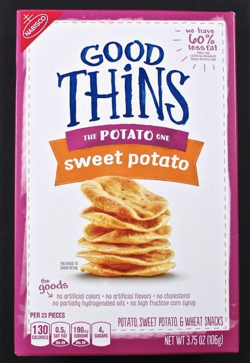 Good Thins sweet potato