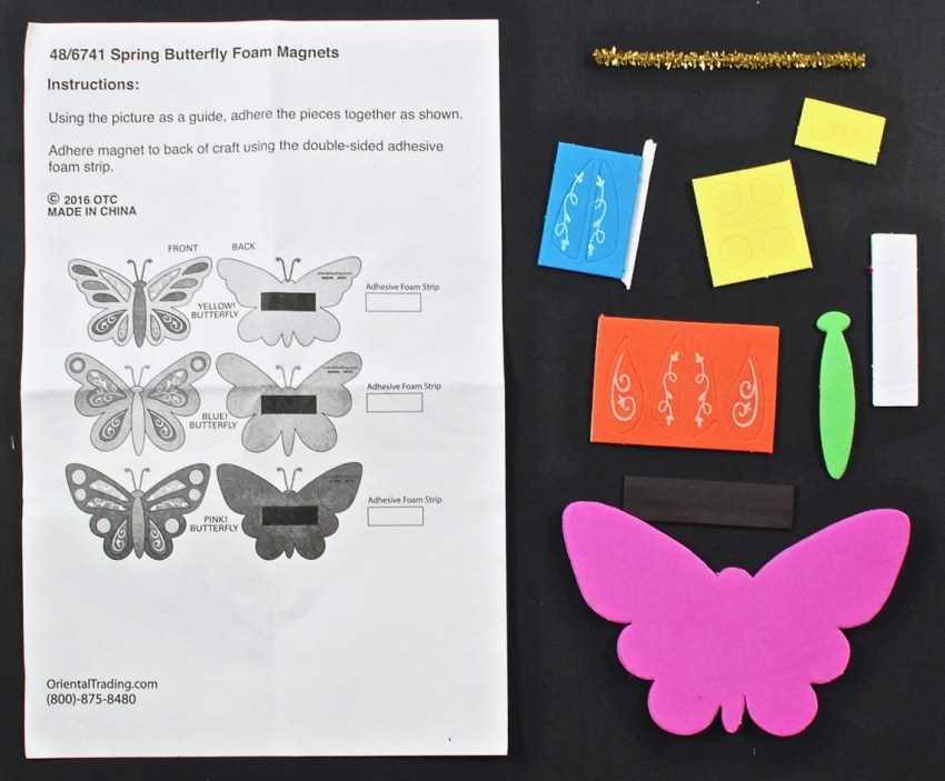 butterfly magnet kit