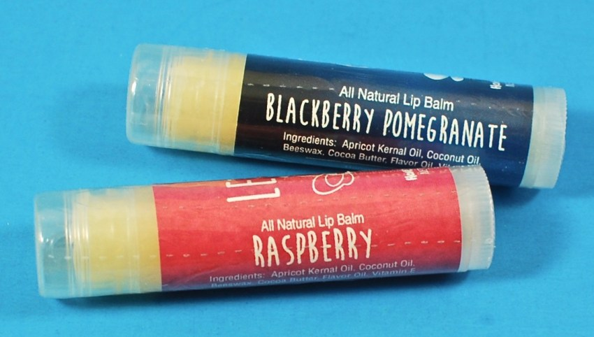 Honeyrun Farm lip balms