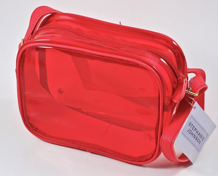 popsugar red crossbody bag