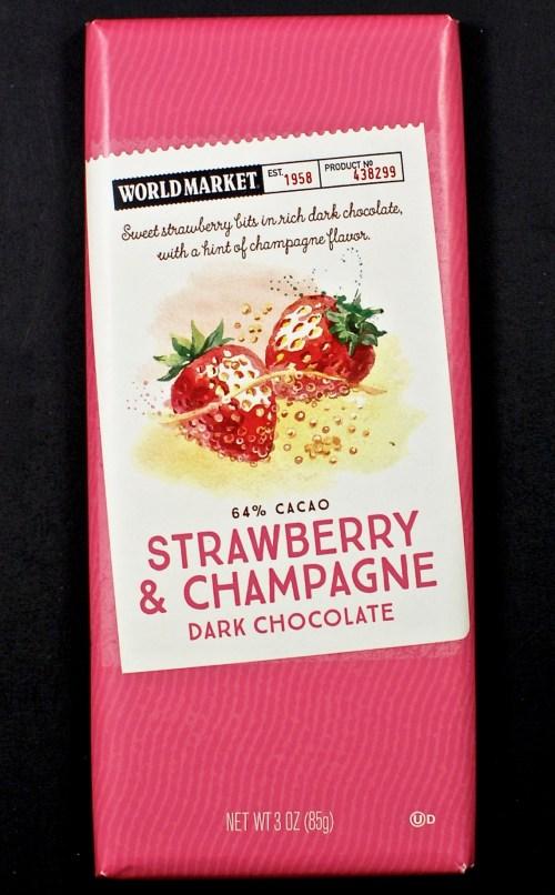 World Market Strawberry & champagne bar