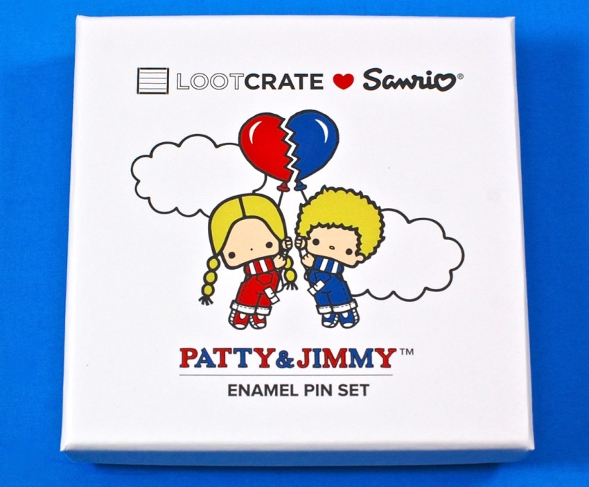 Patty & Jimmy enamel pins