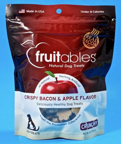 Fruitables crispy bacon & apple treats