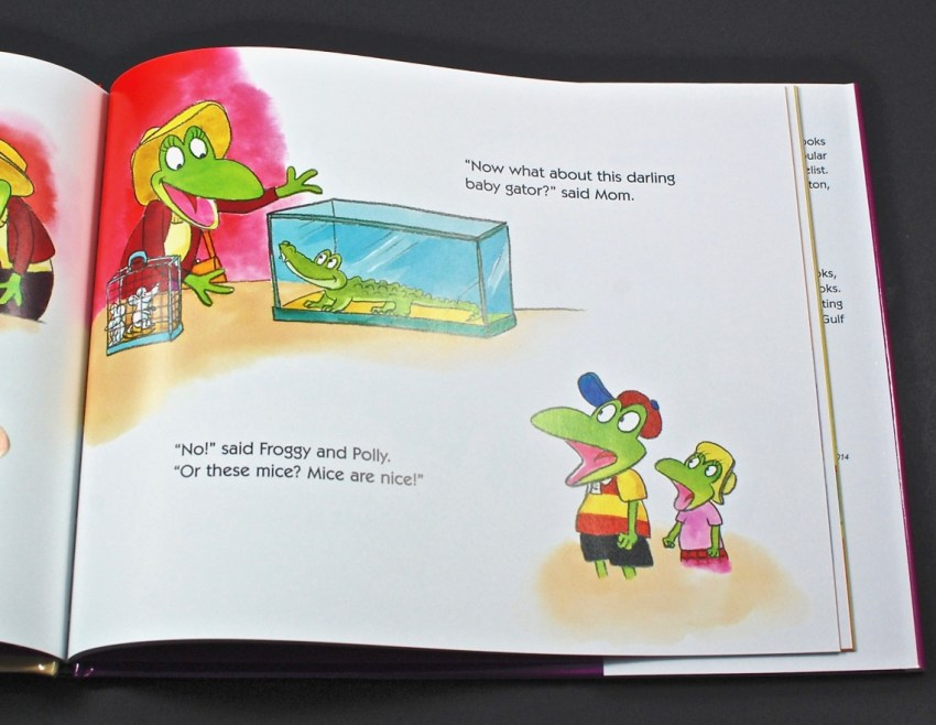 Froggy gets a Doggy book