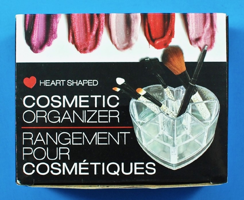 Heart Shaped Cosmetics Organizer