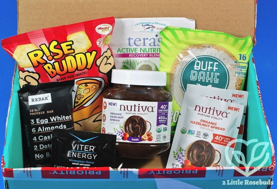 April 2017 Fit Snack review