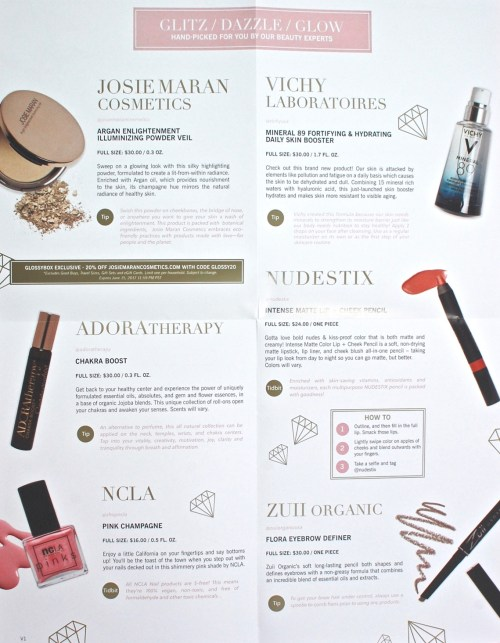 Glossybox Mother's Day 2017 review