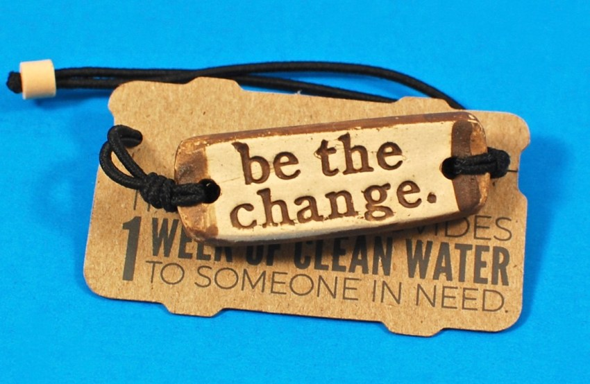 Be the Change bracelet