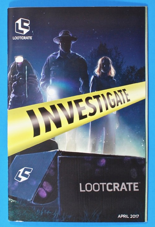 Loot Crate Investigate review