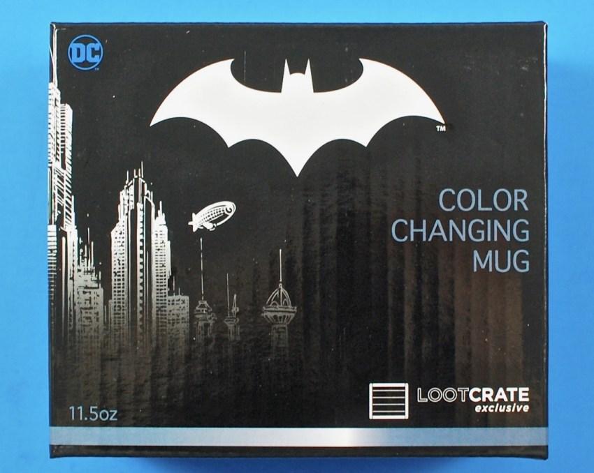 Batman color changing mug