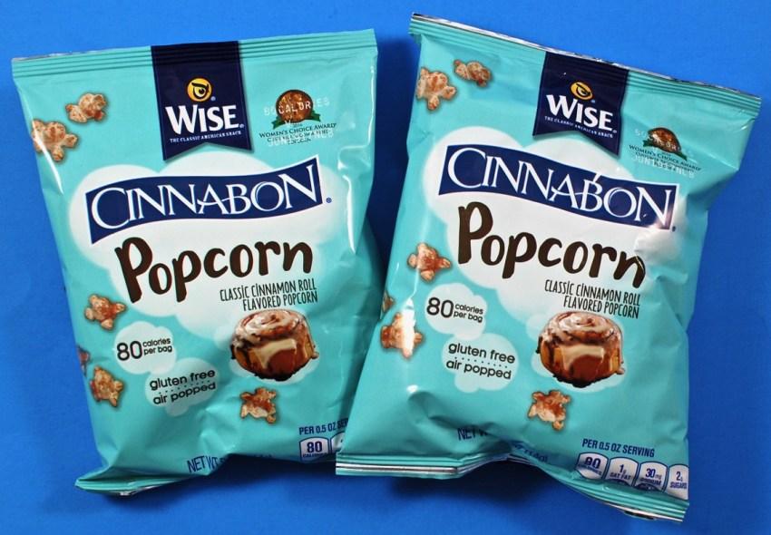 Cinnabon popcorn