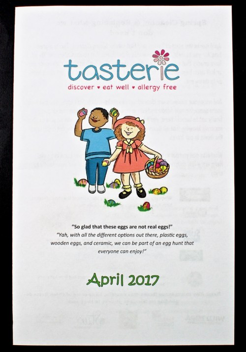 Tasterie box review
