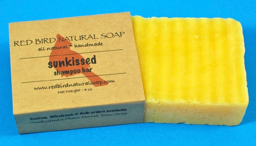 Red Bird Natural Shampoo Bar