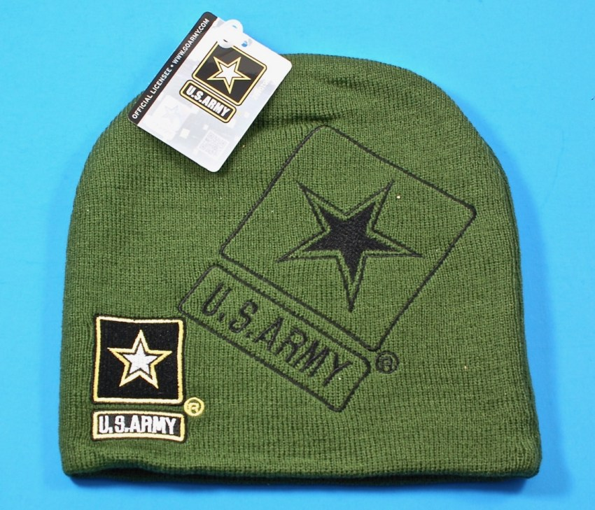 U.S. Army steep beanie