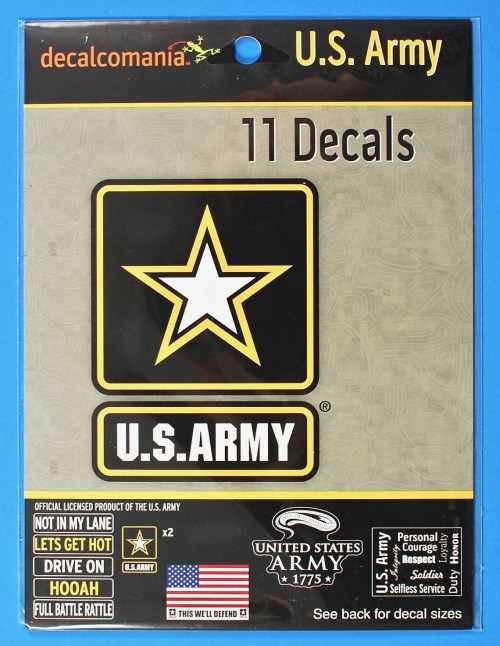 Army decal set