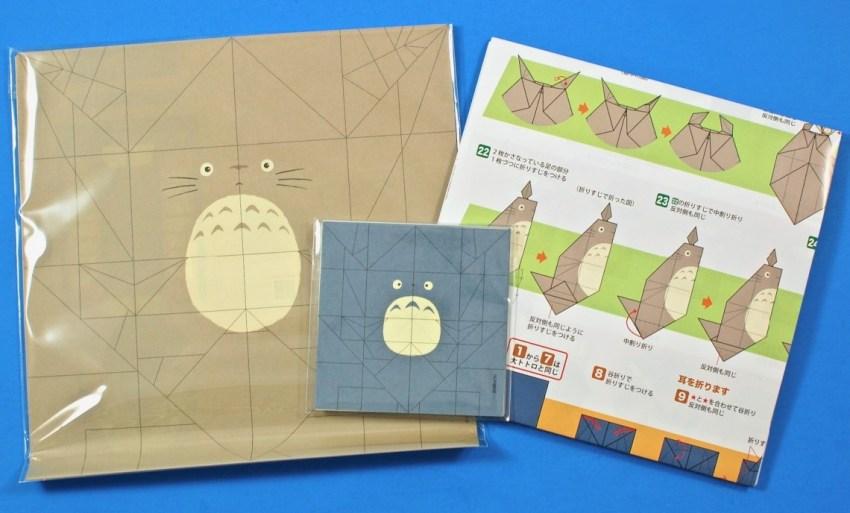 Totoro origami kit