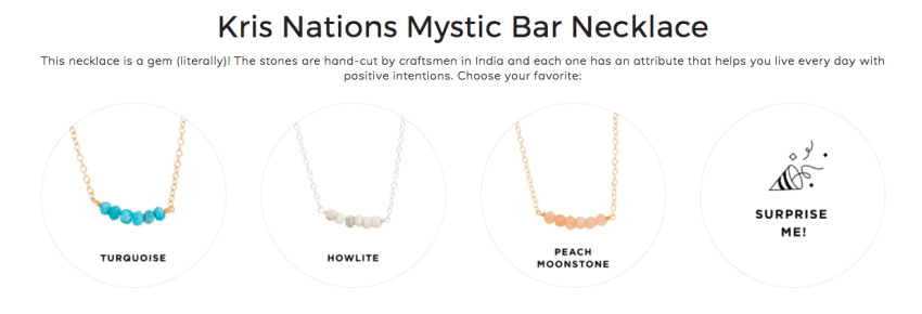 Kris Nations Mystic Bar Necklace
