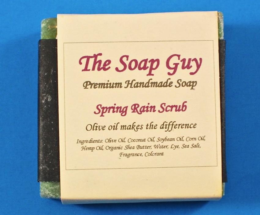 The Soap Guy spring rain soap