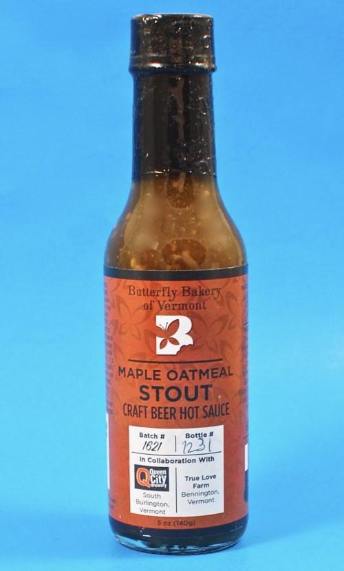 maple oatmeal stout hot sauce