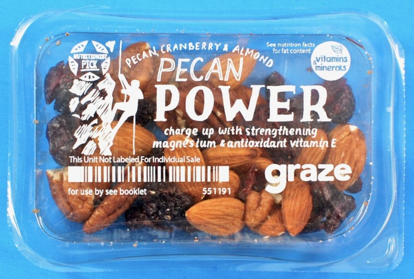 Graze pecan power