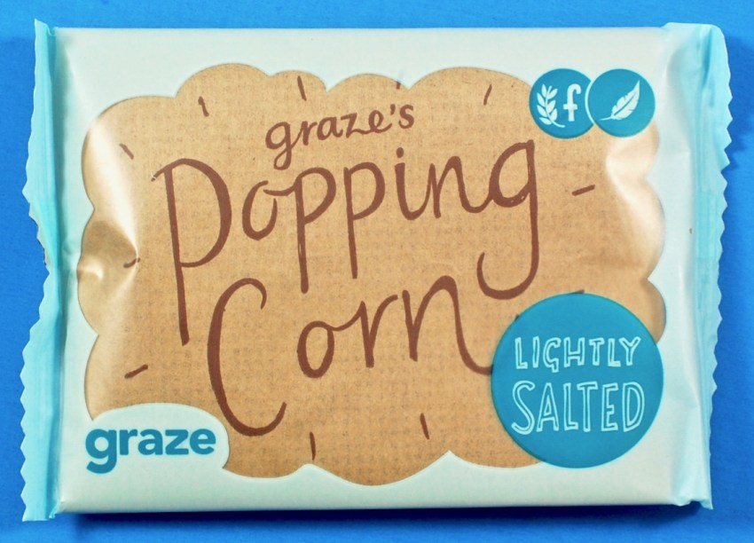 Graze popping corn