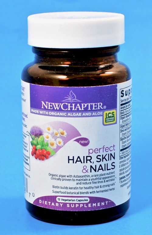 New Chapter hair vitamins