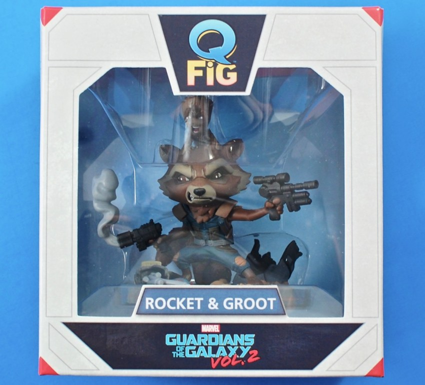 Guardians Rocket & Groot Q-Fig