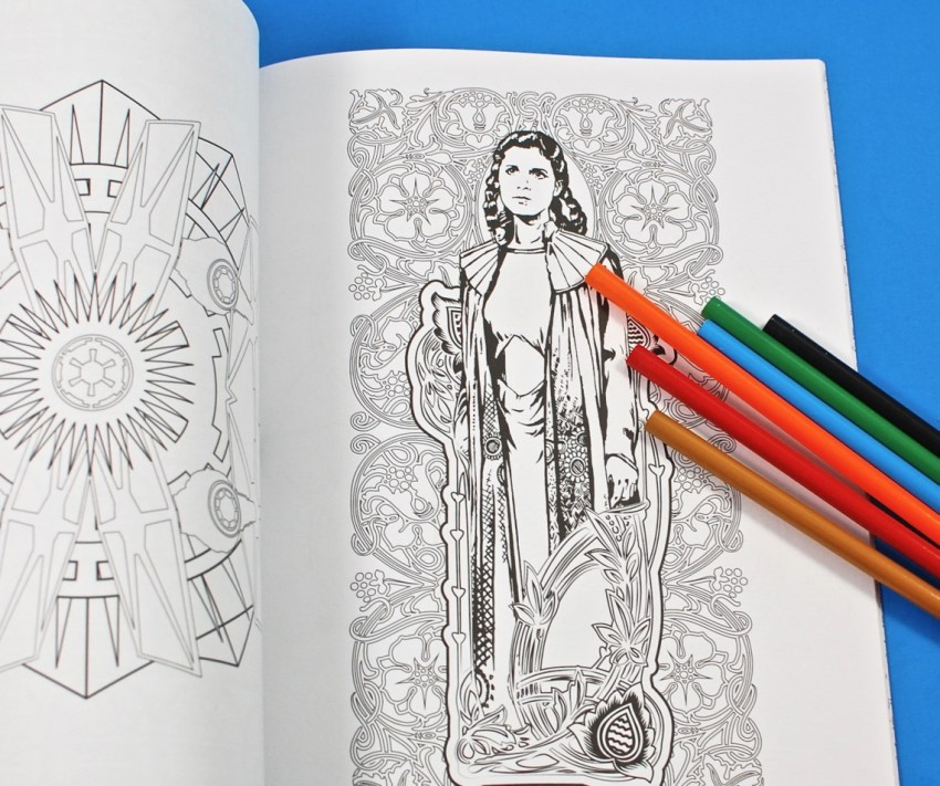 Star Wars adult coloring book