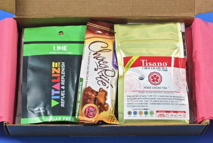 sugar-free subscription box
