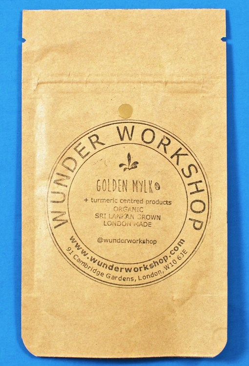 Wunder Workshop turmeric latte