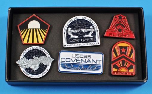 alien pin set