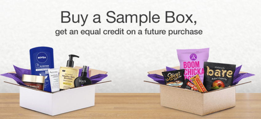 Amazon sample boxes
