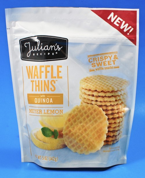 Julian's Recipe lemon waffle thins