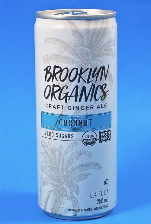 Brooklyn Organics ginger ale
