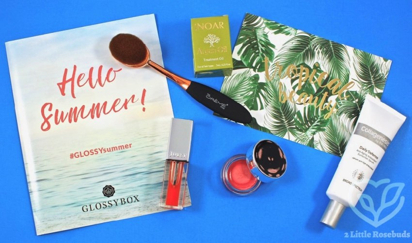 Glossybox June 2017 Subscription Box Review & Coupon Codes