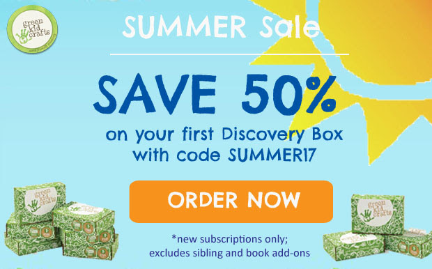 Green Kid Crafts Summer 2017 Coupon – 50% Off First Month!
