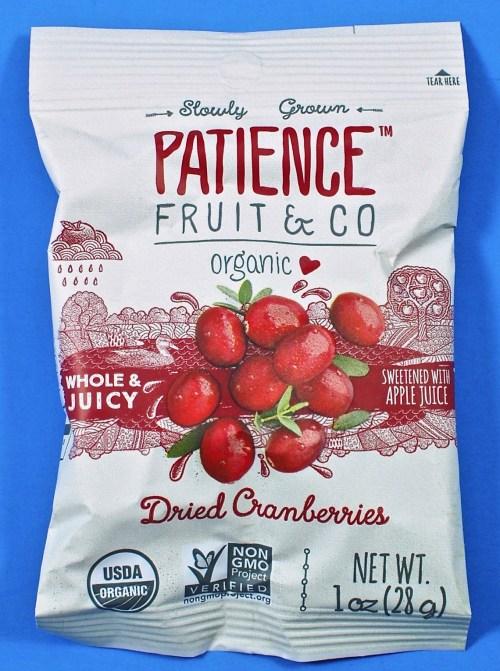 Patience Fruit & Go cranberries