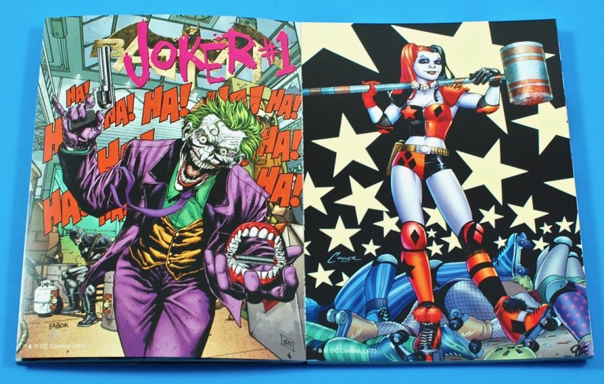 DC Comics poster book