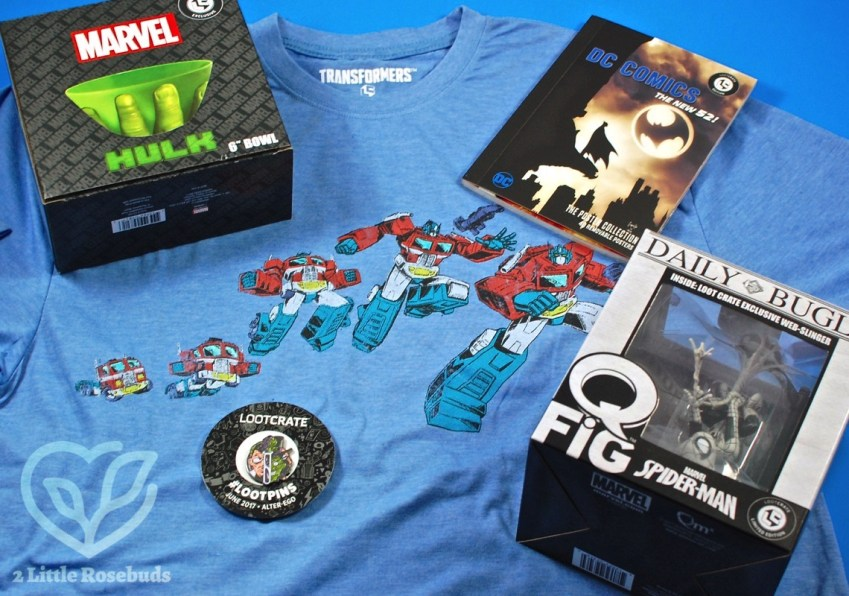 "Loot Crate June 2017 ""Alter Ego"" Subscription Box Review & Coupon Code"
