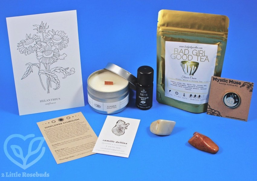 Mystic Muse June 2017 Subscription Box Review & Coupon Code