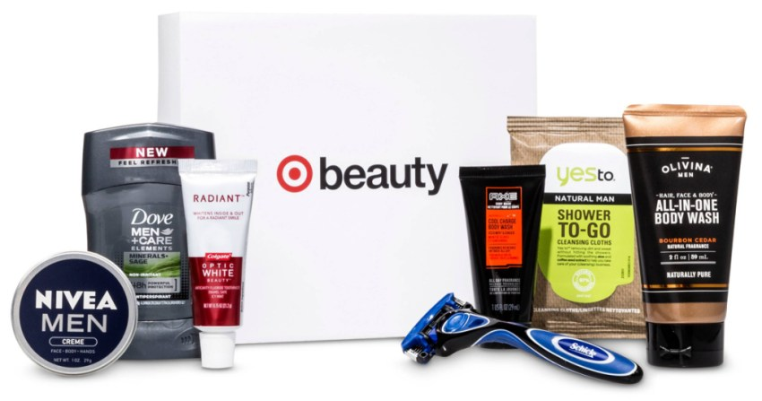 Target Men's Beauty Box Deal – $15 Shipped for FOUR Boxes!
