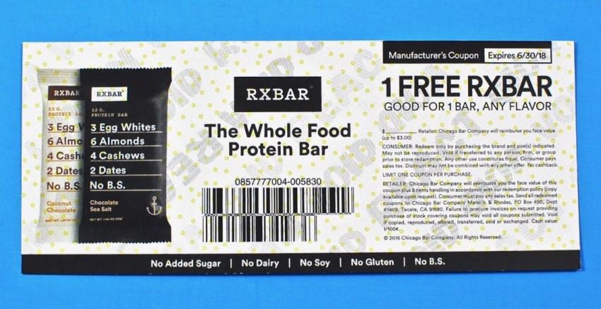 RXbar coupon