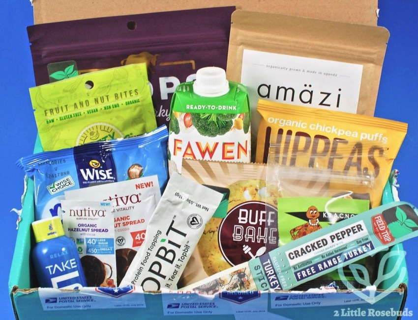Fit Snack July 2017 Subscription Box Review & Coupon Code